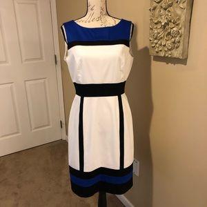💥HP 7/29💥 TAHARI Scuba Sheath Dress Size 6